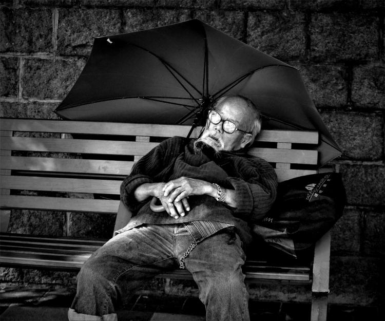 old man of Hong Kong