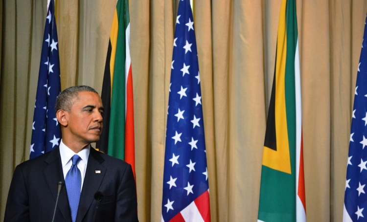 Barack Obama in South Africa