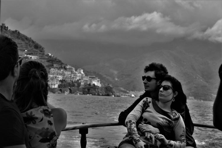 Lovers in Amalfi
